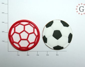 Soccer Ball Cookie Cutter