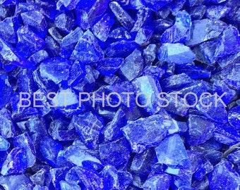 Ice Blue Rocks Background Photo Stock | Digital Image | Business Promotion