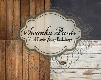 COMBO / FOUR PACK / 2ft x 2ft Vinyl Photography Backdrops for Product Photos