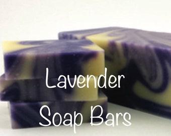 Lavender Cold Process Soap Bars
