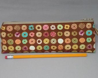 Pencil Bag, Mmm ... Donuts