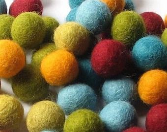 Collection - 60PC Piece SCARF Felt Balls