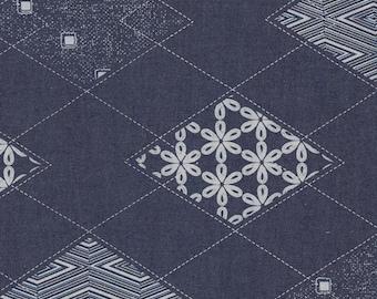 Art Gallery Diamond Acruate Printed Denim
