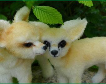 Fennek ein Wüstenfuchs zum selber nähen. Anleitung mit 77 Seiten und Schnittmuster ebook Furry Critters