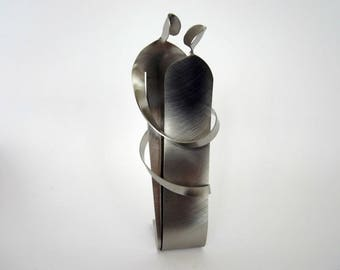 EMBRACE - metal sculpture - GIFT