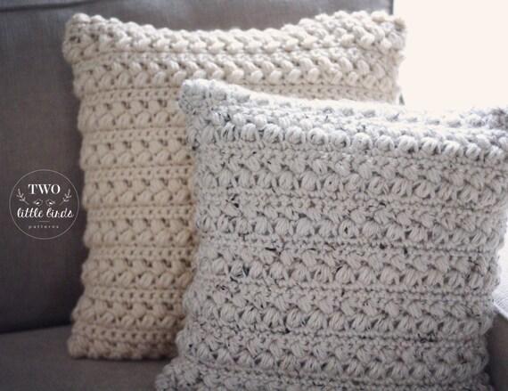 Home decor crochet pattern crochet pillow crochet throw home decor crochet pattern crochet pillow crochet throw pillow cover customizable to any square or rectangle pillow aspen pillow dt1010fo