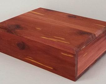 Aromatic cedar box