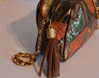 High Fashion Purse with Chain Strap