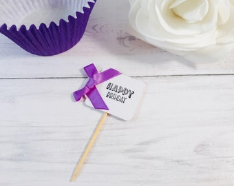 Occasion Cupcake Flag