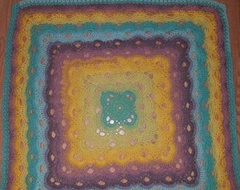 Virus Pattern Baby Blanket