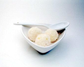 Gourmet Dark or White Chocolate Mango Truffles (16 count)