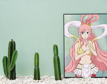Princess Shirahoshi • One Piece • Anime Print illustrated by Brenden Roel de Vries