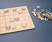Sudoku game, Wooden game, Wood sudoku game, Sudoku, Educational, Gift for children, Educational puzzle, Kids puzzles, Childrens game, Wooden