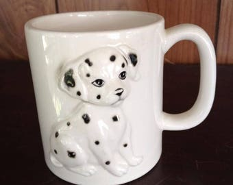 DALMATION MUG Japan dog mug puppy mug