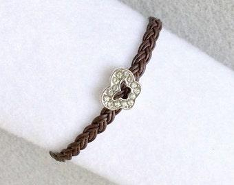 Crystal Butterfly Bracelet