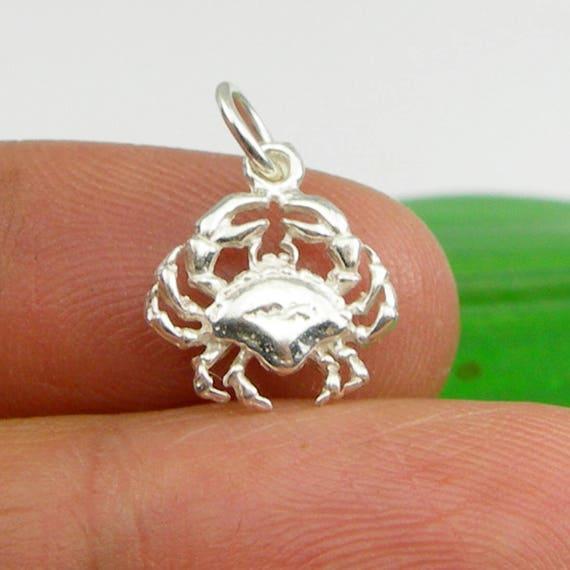 Zodiac Birthday Sign Cancer Crab Leo Lion Virgo Charm Pendant