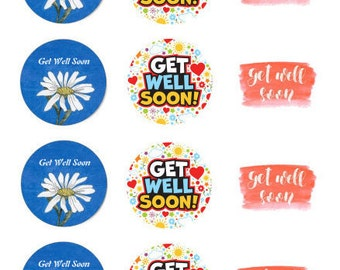 Get Well Soon Chocolate Covered Cookies, Custom Treats for all Occasions