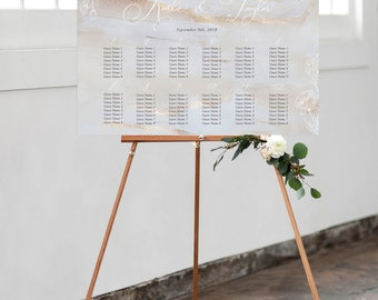Seating Chart - Elegance Blooms (Style 13808)