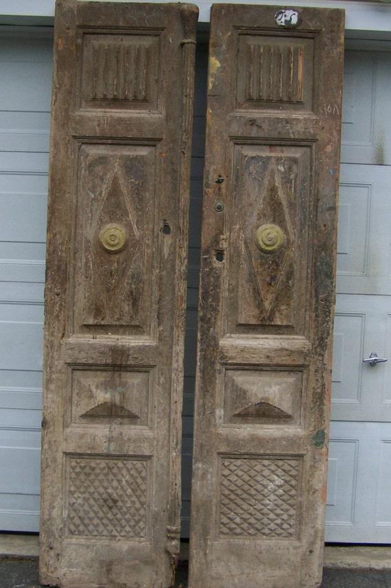 antique mediterranean wood doors with raised panelseuropean doordecorative wood doorprimitive wood doorcarved wood doorold heavy door from ... & antique mediterranean wood doors with raised panelseuropean door ...