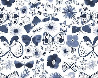 Watercolour Butterfly Bib