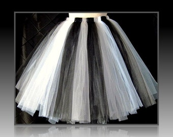 "Tutu skirt 30"" long,floor length bow,Tea Length Tutu,Sewn and Lined Tutu,Birthday Tutu,customize your size and color(s) priority shipping"