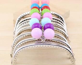2pcs. 12.5cm (5 inch) purse frame purse clasp clutch frame metal purse frame purse making supplies wholesale(yx)