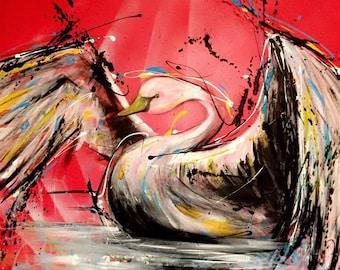Swan (Print 16x20)