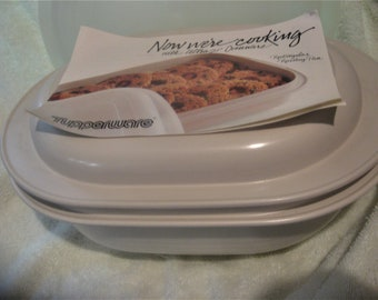 TUPPERWARE ULTRA 21 3 PIECE Cookware Set 1 Quart 3 Quart Lid Cover Unused