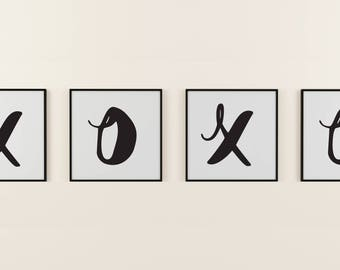 XOXO Love Art Digital Print