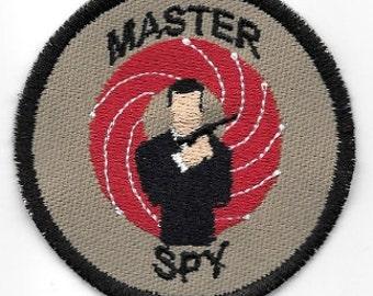 Master Spy Geek Merit Badge Patch (Male)