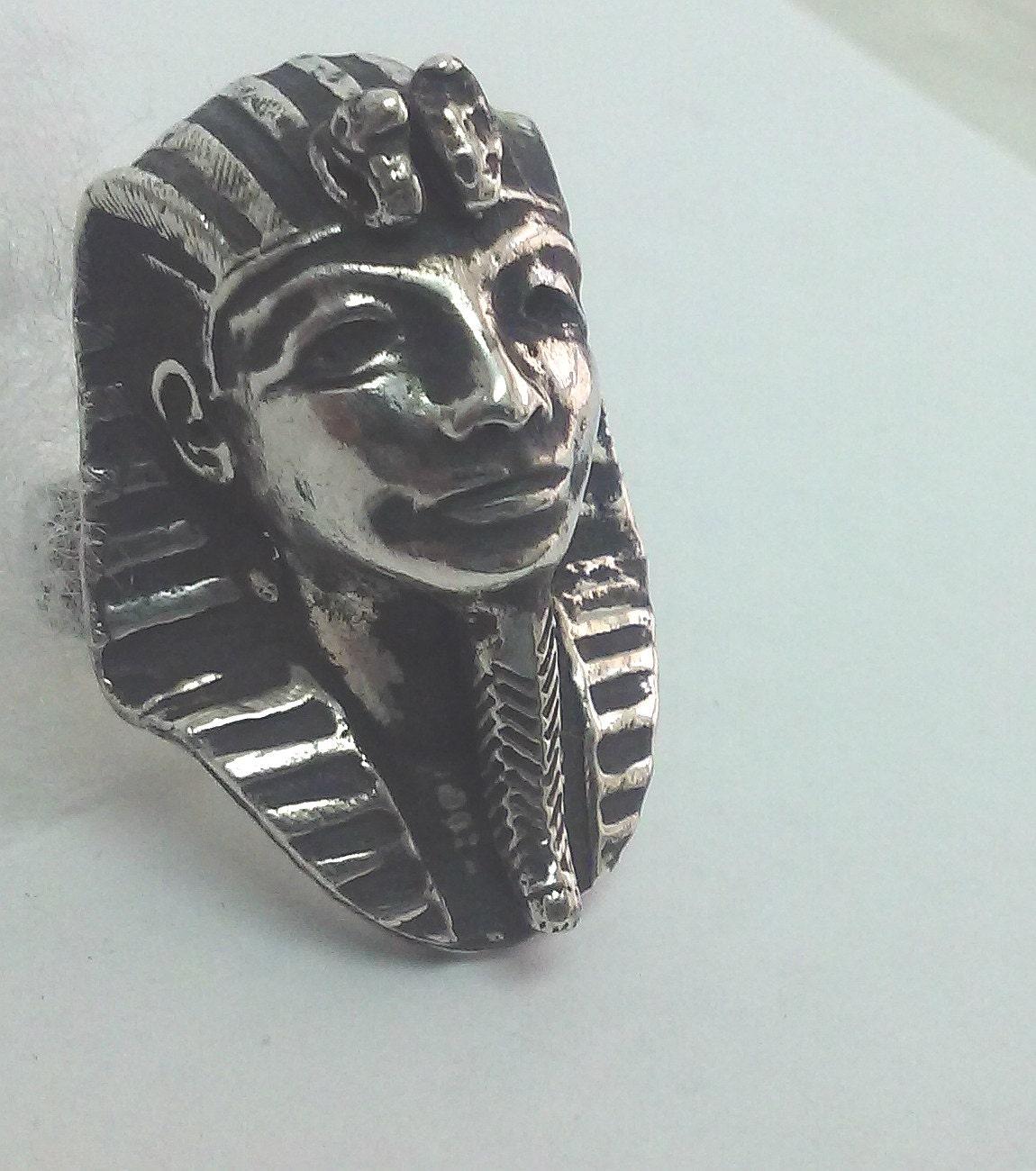 Faraón egipcia joyería anillo de Faraón rey Tut de joyas