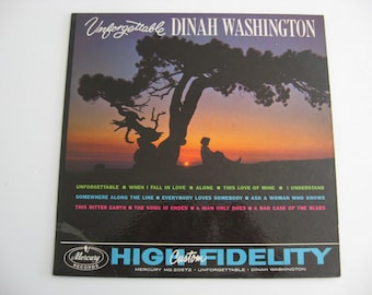 Dinah Washington - Unforgettable - Circa 1961