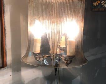 Vintage hanging lamp.