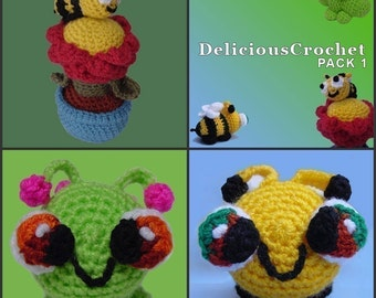 Amigurumi Pattern Crochet PACK I DIY Instant Digital Download PDF