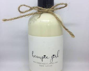 Hempie Girl Organic Hemp Oil and Goat's Milk lotion