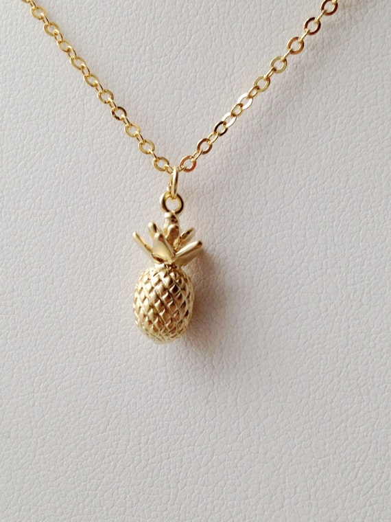 row products pineapple pendant necklace sterling silver wellesley