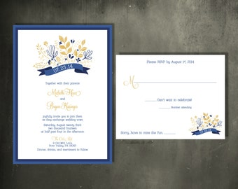 Rustic Wildflower Bouquet Invitation Suite - New This Season