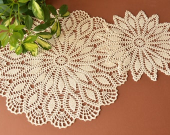 Crochet Doilies (two)