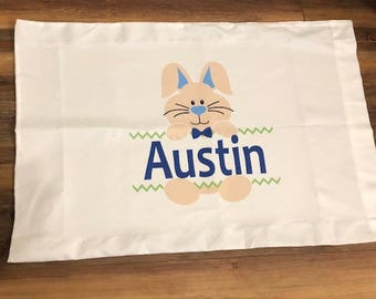 Personalized Easter Pillow Case