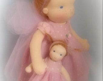 waldorfdoll waldorf doll zonnekindpop elfje fairy  elf