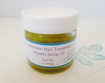 Natural Hemp Hair Treatment
