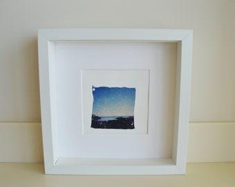 Polaroid Emulsion lift - Dreaming Of The Sea