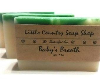Baby's Breath Soap