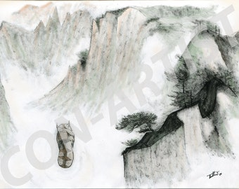 Lost days (Appa, the last airbender - digital art print)