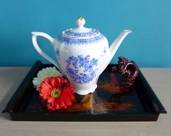 Pretty China Blue teapot