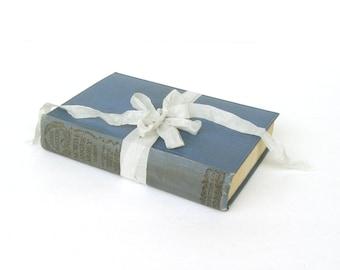 Northanger Abbey By Jane Austen, Illustrted by Charles E. Brock, J. M. Dent & Sons, E. P. Dutton, Blue Austen Decor, Austen Wedding, Goth