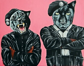 Black Panthers: Power to the People! (original)