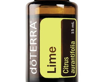 Doterra Lime Essential Oil 15mL bottle