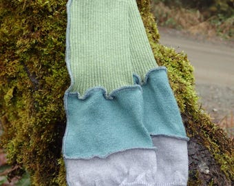 Pickin' mitts - foraging gloves - fingerless arm warmers