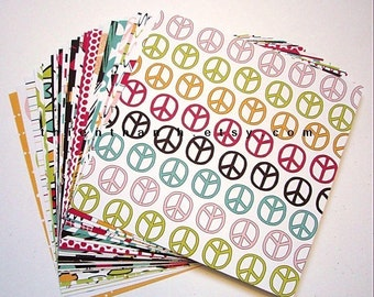 NEW paper pack - TEEN collection - set of 30 - 1 side medium weight papers - 6x6